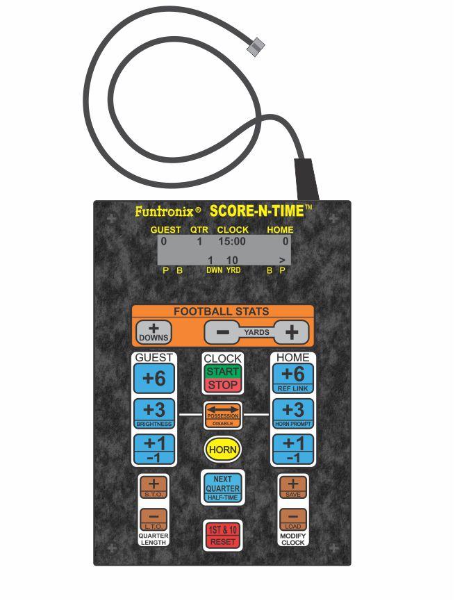 Corded Football Keypad