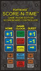Scoreboard Keypads