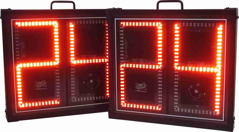 12-inch shot clocks