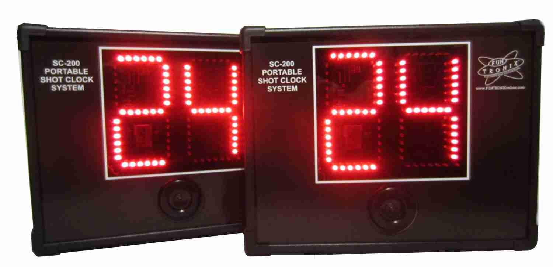 6-inch shot clocks