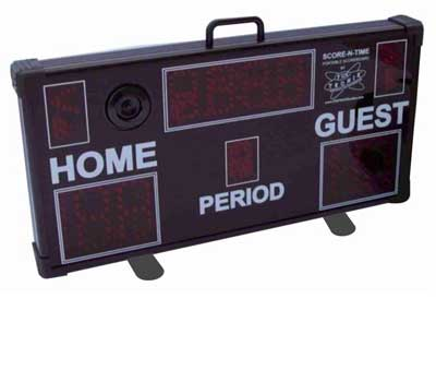 Multisport Portable Scoreboard front view