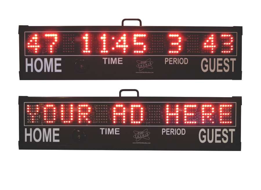 SNT-180MS Portable Messaging Scoreboard