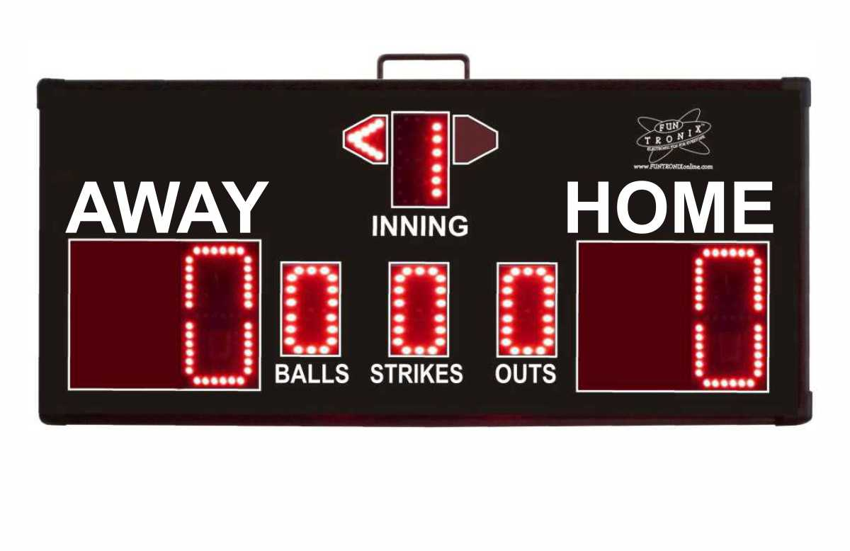 SNT-300BB Portable Baseball Scoreboard
