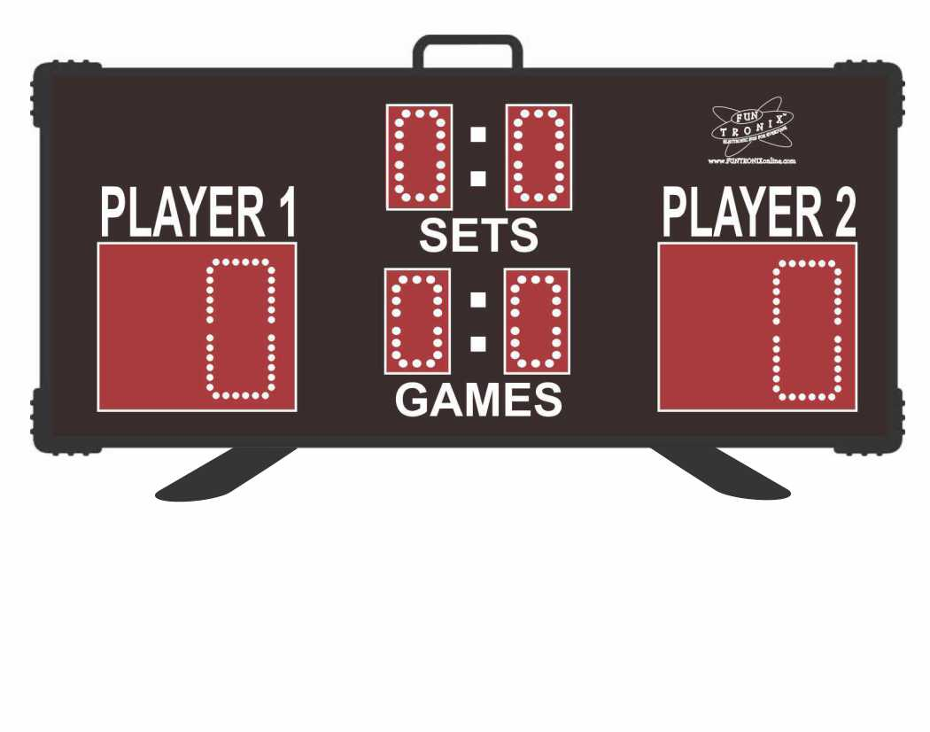 SNT-300T Portable Wireless Tennis Scoreboard