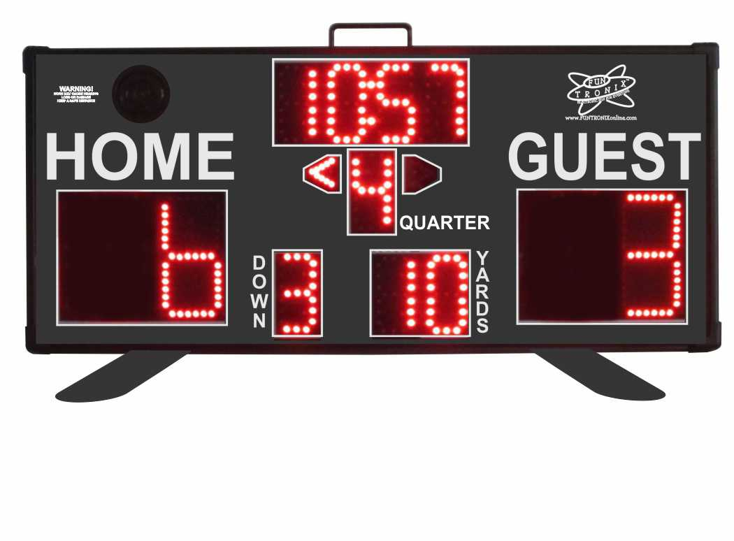 SNT-340F Mid-Sized Portable Scoreboard
