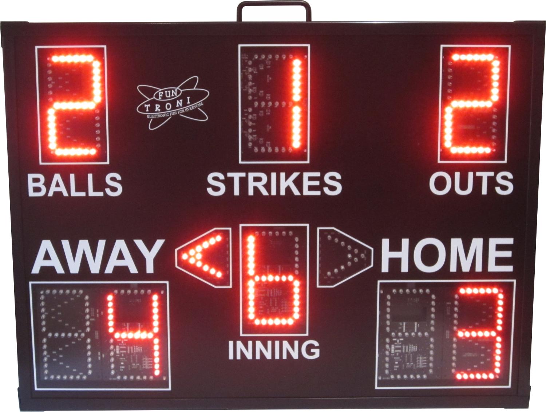SNT-440BB Portable Baseball Scoreboard