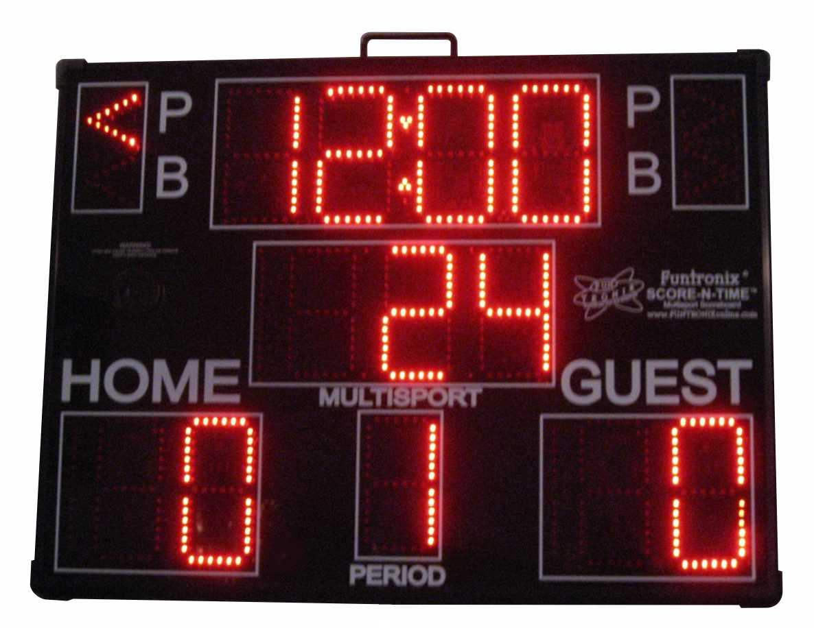 Large Portable Multisport-Pro Scoreboard