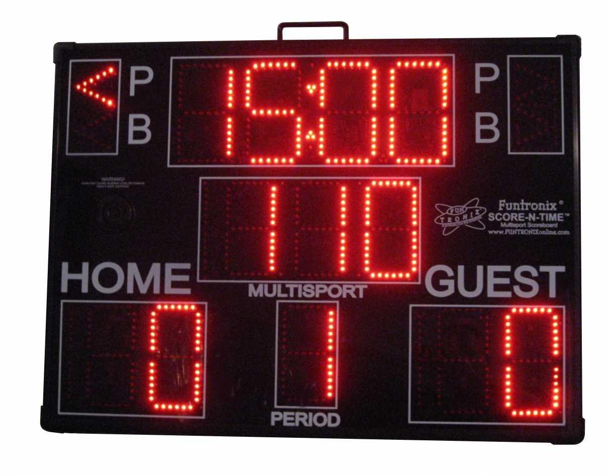 Large Portable Multisport-Pro Scoreboard