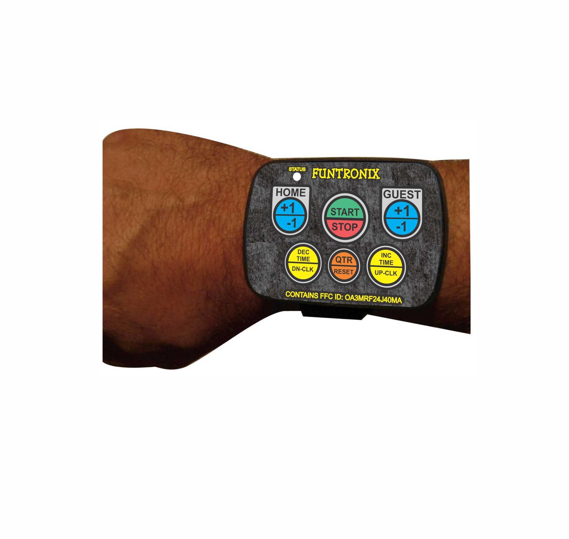 Wrist-remote controller