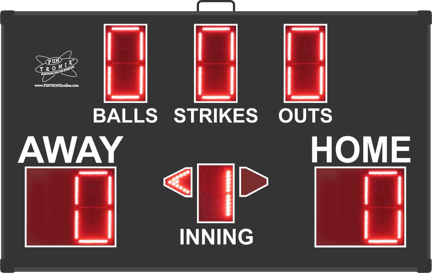 SNT-800BB Portable Baseball Scoreboard