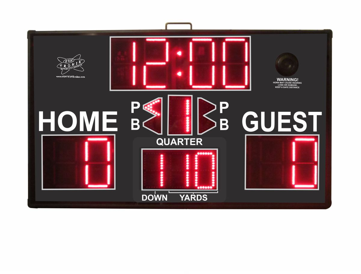 SNT-800M ultra large portable scoreboard football mode