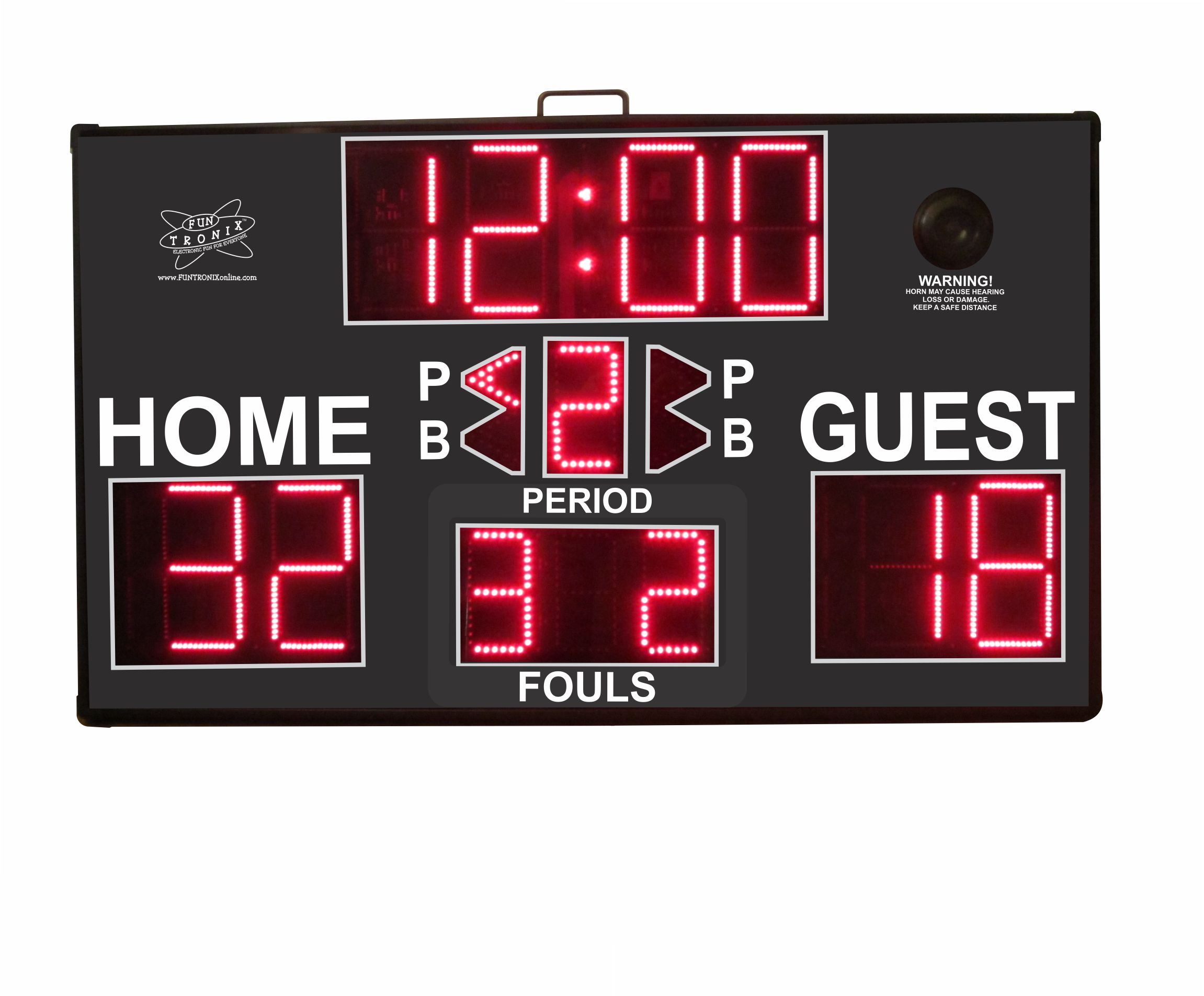 Multisport Portable Scoreboard with team fouls