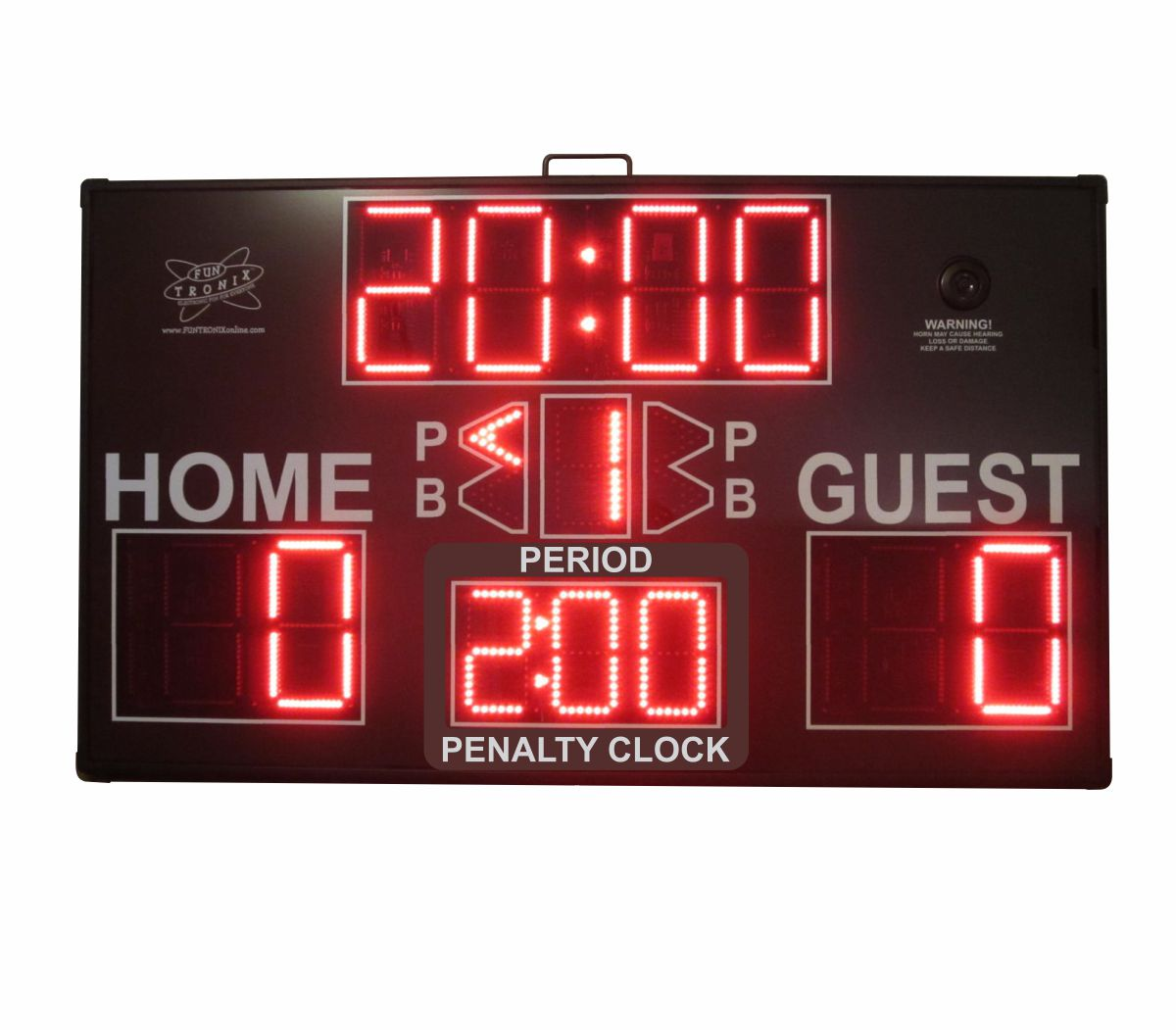 SNT-800M ultra large portable scoreboard penalty clock