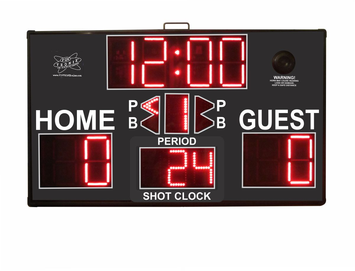 SNT-800M ultra large portable scoreboard with shot clock