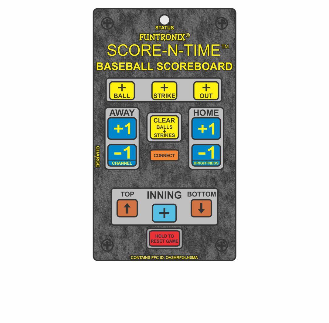 Portable Baseball Scoreboard Keypad