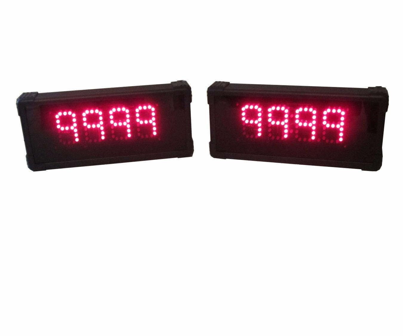 Two-Team 4-digit Gameshow Scoreboards