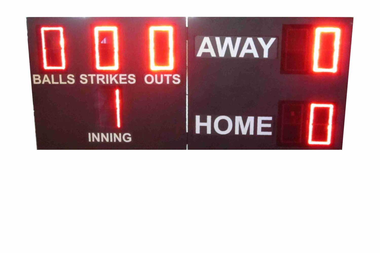 Folding Baseball Scoreboard