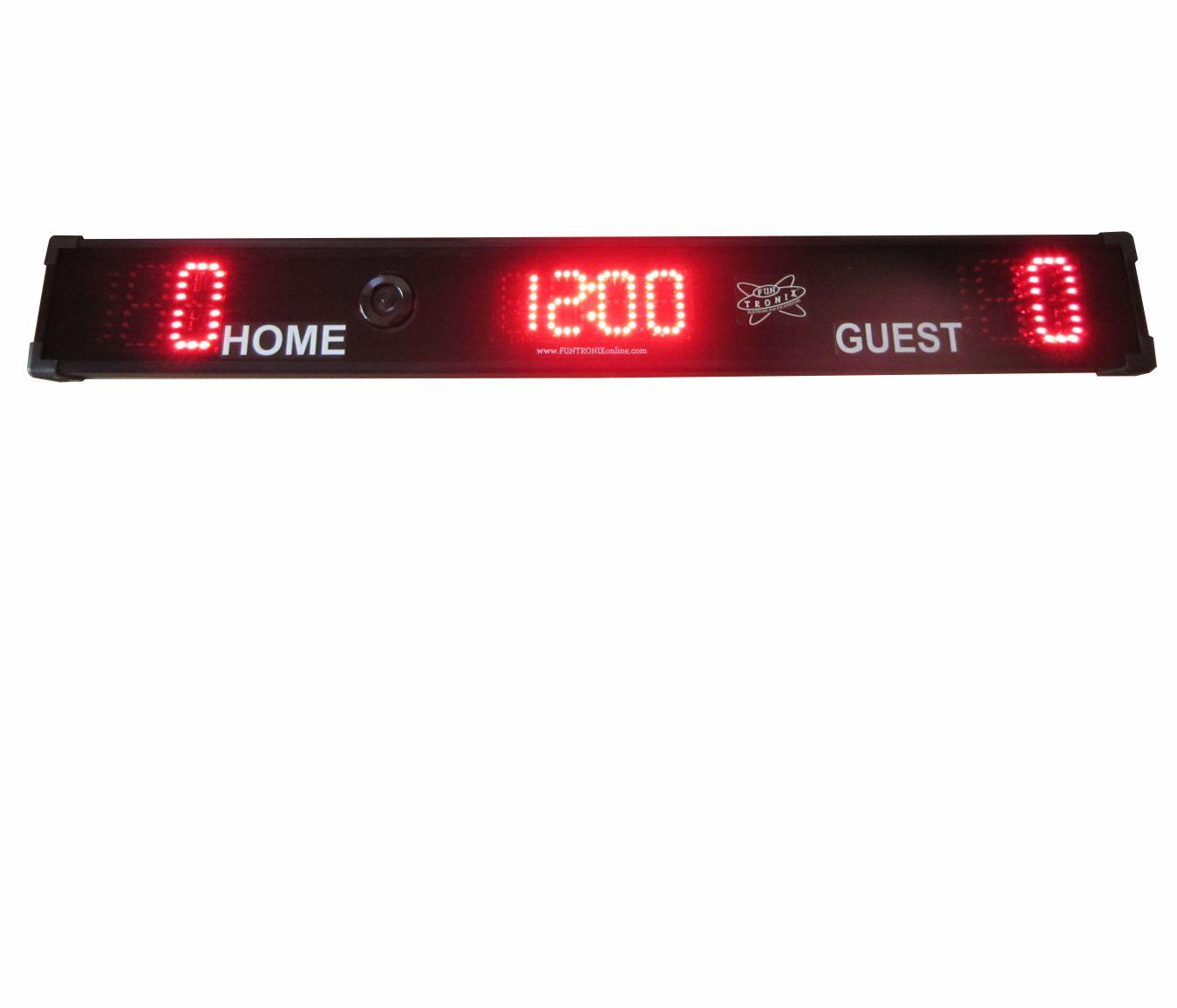 Low-Profile Scoreboard