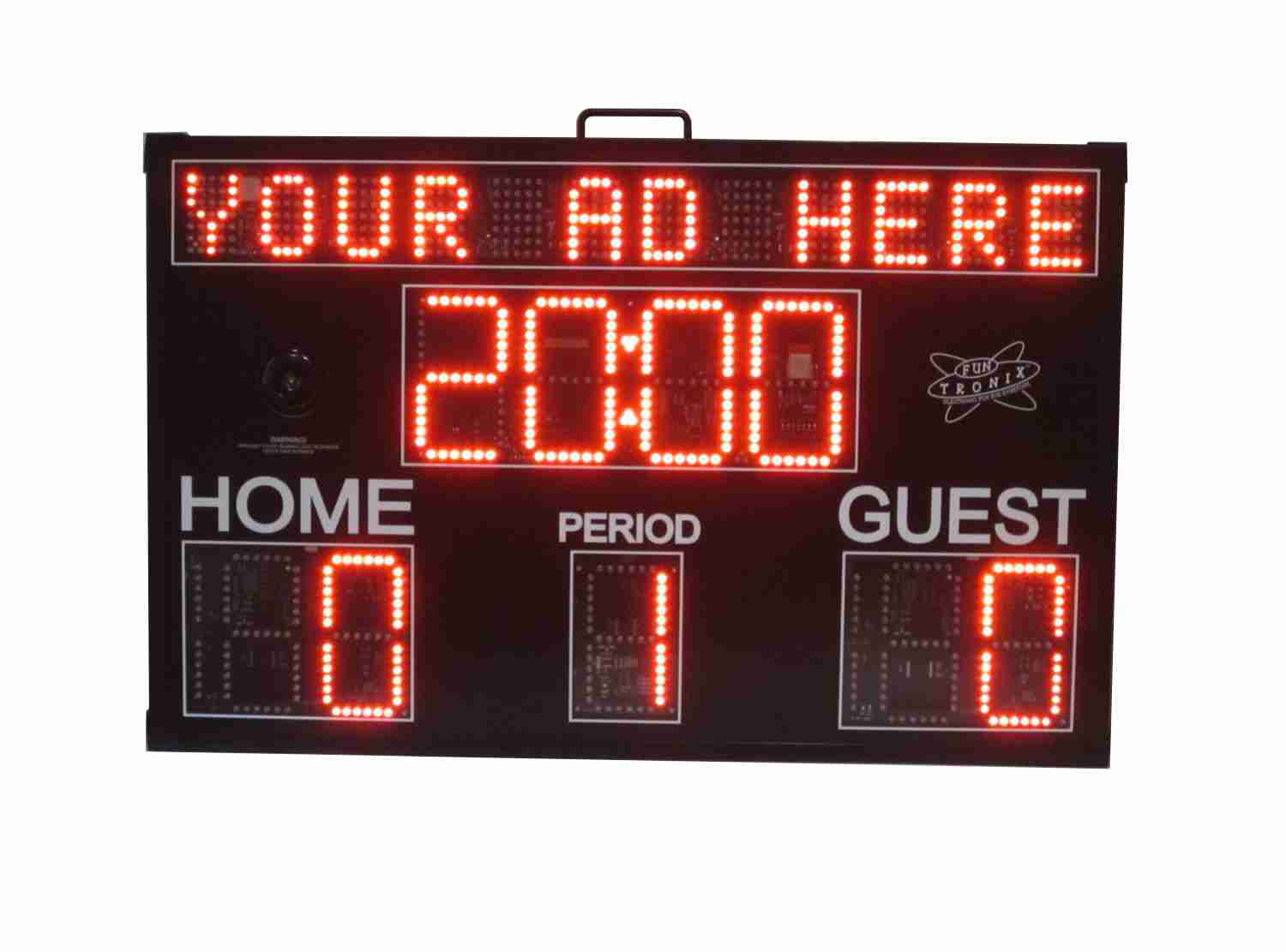 SNT-440 Large Scoreboard with Messaging
