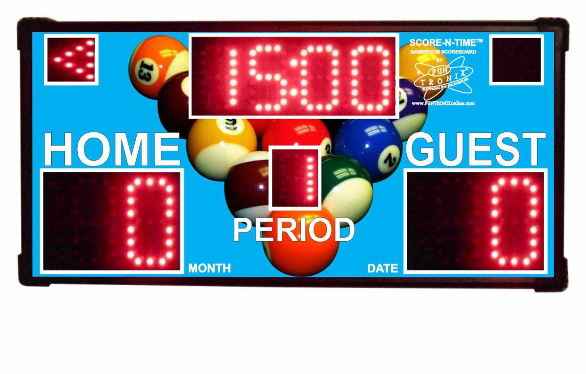 Customized Game Room Scoreboard