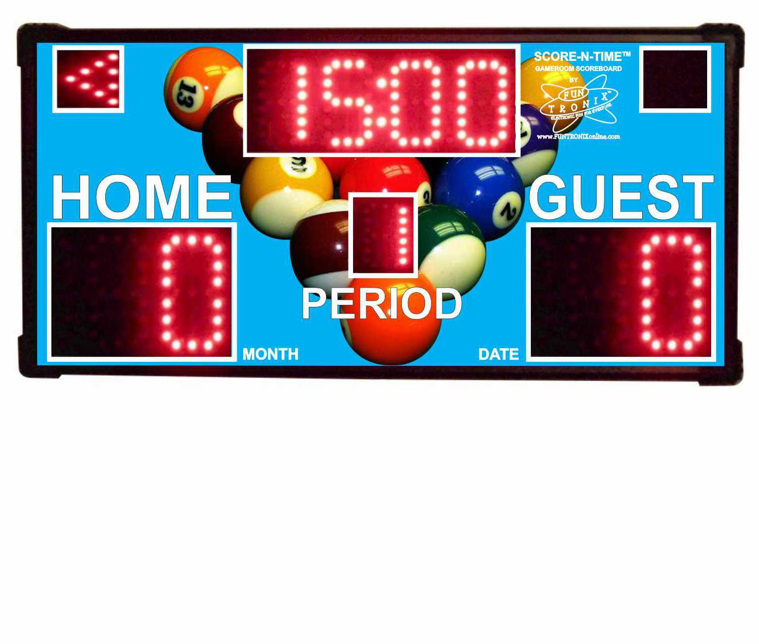 Billiard Custom Scoreboard