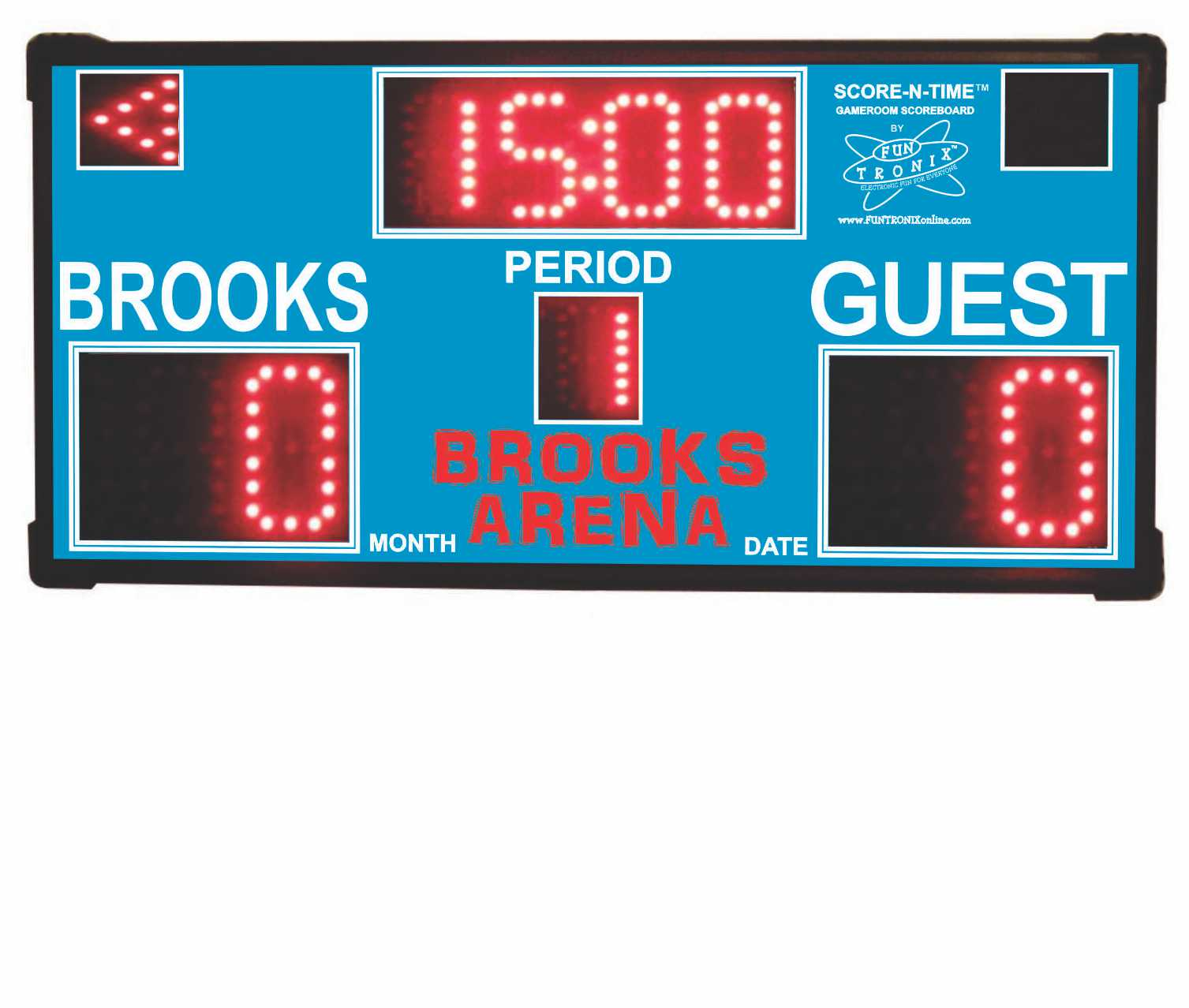 Brooks Custom Scoreboard