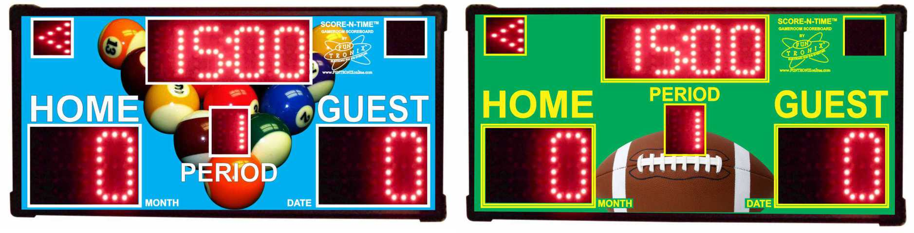 Custom Gameroom Scoreboards