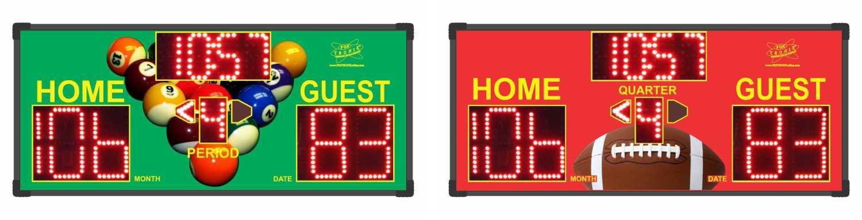 Custom Gameroom Scoreboards