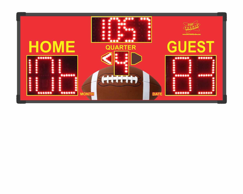 Football Custom Scoreboard