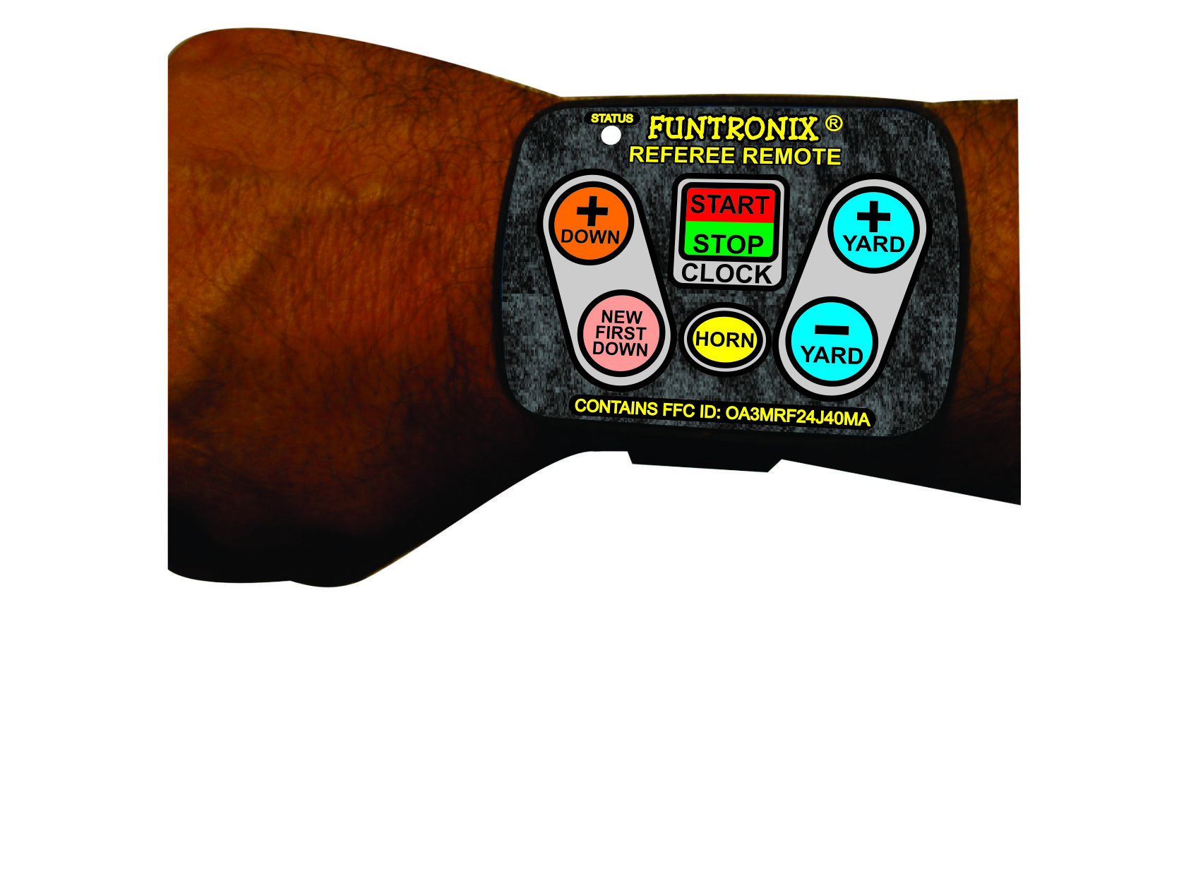 WK-100FRM Wireless Football Wrist Remote